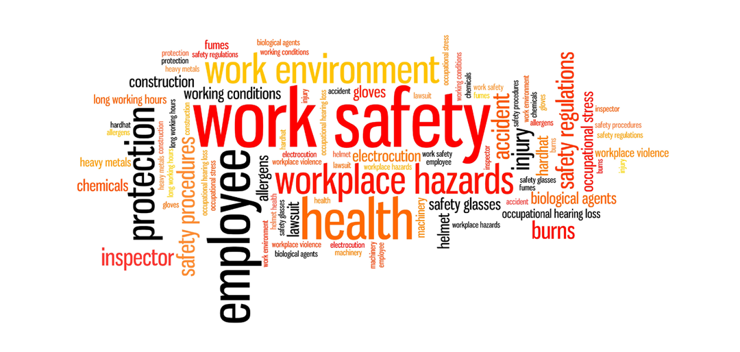 workplace safety collage