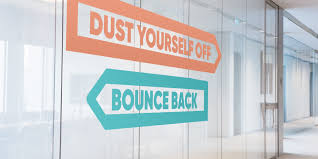 Resilience Bounce back sign