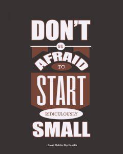 Small habits - Big results