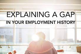 Explaining an employment gap