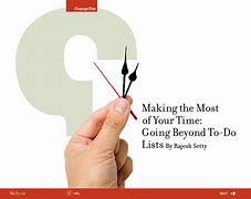 Making the most of your time during workday